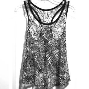 Sleeveless Lace Tank